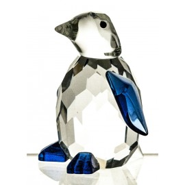 Crystal Penguin Figurine Paperweight