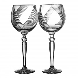 Crystal Red Wine and Water Glasses, Set of 2 (10691)