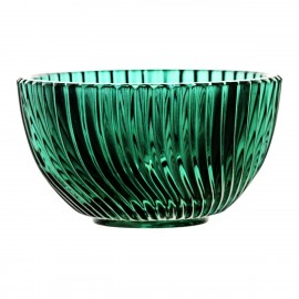 Crystal Painted Fruitbowl Linea 10229