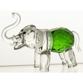 Crystal Elefant Figurine Paperweight