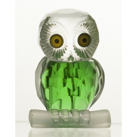 Crystal Owl Figurine Paperweight
