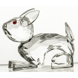 Crystal Rabbit Figurine Paperweight
