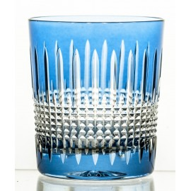Crystal Painted Whisky Glasses Set of 6