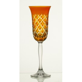 Painted Champagne Glasses, Set of 6 7836