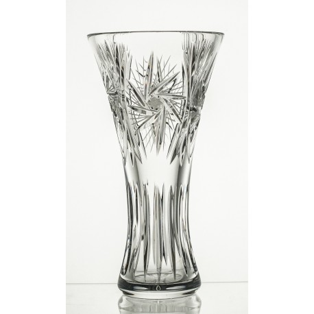 Crystal vase for flowers 25 cm - 2722
