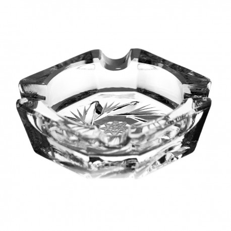 Crystal ashtray 7cm - 0181-