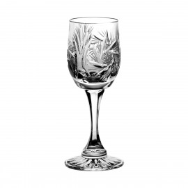 Set of crystal liqueur glasses, 6 pcs - 0203