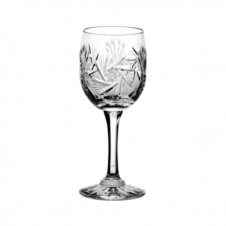 Set of crystal wine glasses, 6 pcs - 0205
