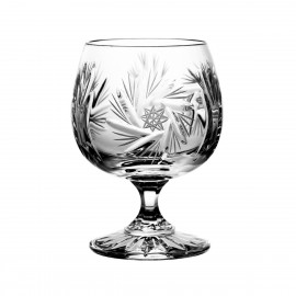 Set of crystal cognac glasses 6 pcs - 0207
