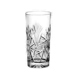 Set of crystal long drink glasses 6 pcs -0209-