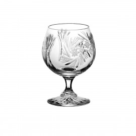 Set of crystal cognac glasses, 6 pcs -0429-