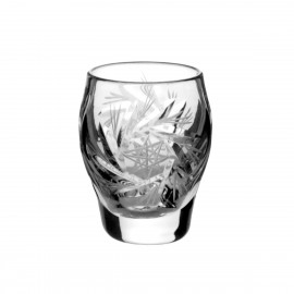 Crystal Vodka Shot Glasses, Set of 6 0547
