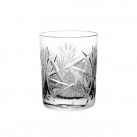 Whisky crystal tumblers 180ml, set of 6 pcs - 0825 -