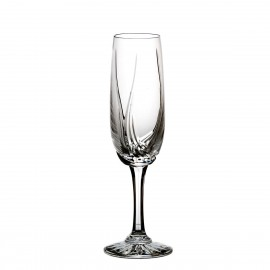 Set of crystal champagne glasses 6 pcs - 1007