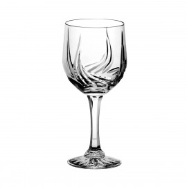 Set of crystal wine glasses, 6 pcs - 1008 -