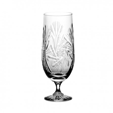 Set of crystal beer glasses 6 pcs - 1040
