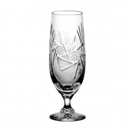 Set of crystal beer glasses 6 pcs -1041-