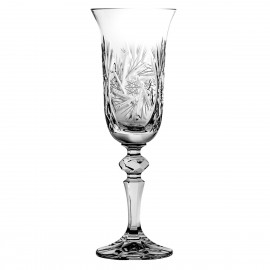 Champagne Glasses, Set of 6 1226