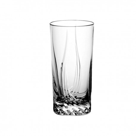 Set of crystal long drink glasses, 6 pcs - 1297
