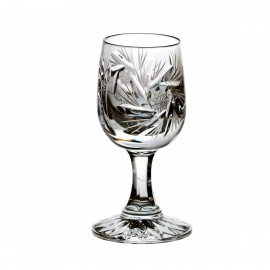 Set of crystal vodka glasses, 6 pcs - 1320