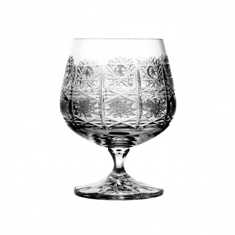 Set of crystal cognac glasses, 6 pcs- 2157 -