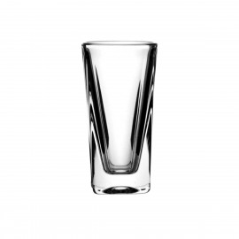 Set of crystal vodka glasses, 6 pcs -2199-