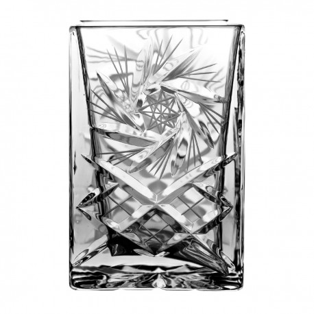 Crystal container, vase 14,5 cm - 2305 -