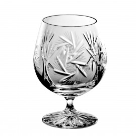 Crystal Cognac and Brandy Glasses, Set of 6 2340