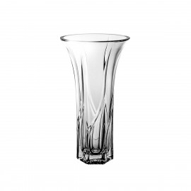 Crystal vase for flowers 25,5 cm - 2342 -