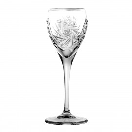 Set of crystal liqueur glasses, 6 pcs - 2585