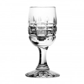 Set of crystal vodka glasses, 6 pcs - 2755 -