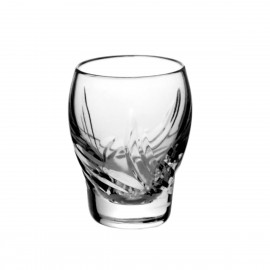 Set of crystal vodka glasses, 6 pcs - 2762 -