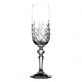 Crystal Champagne Glasses, Set of 6 2921