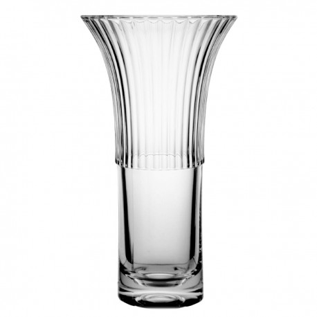 Crystal vase for flowers 25,5 cm - 2956 -