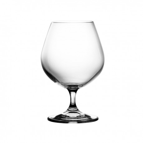Set of crystal brandy cognac glasses, 6 pcs - 3150