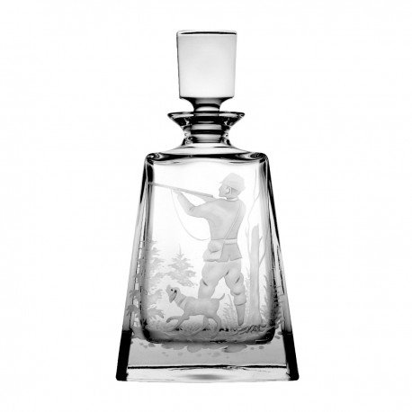 Engraver crystal decanter - 3171