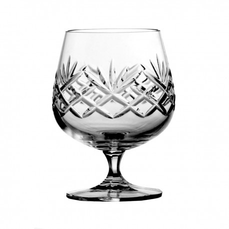 Set of crystal cognac glasses, 6 pcs - 3344