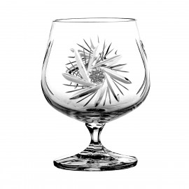 Set of crystal cognac glasses 6 pcs - 3362