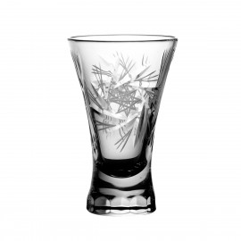 Crystal Vodka Shot Glasses, Set of 6 3373