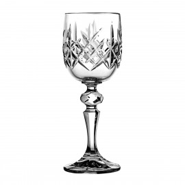 Crystal Sherry and Liqueur Glasses, Set of 6 3597