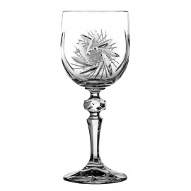 Set of crystal wine glasses, 6 pcs - 3603