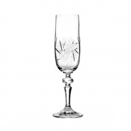 Crystal Champagne Glasses, Set of 6 3605