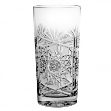 Set of crystal long drink glasses, 6 pcs - 3980 -