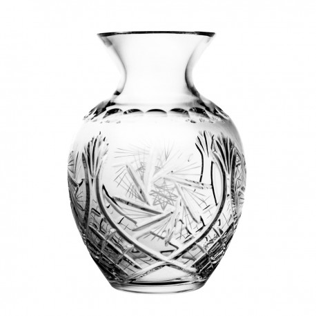 Crystal vase for flowers 23 cm - 4916 -