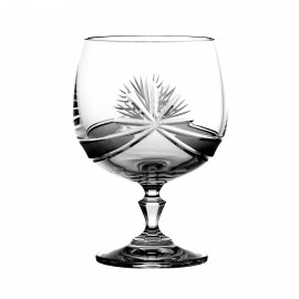 Crystal Cognac and Brandy Glasses, Set of 6 4036