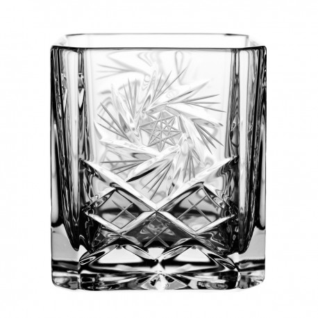 Crystal container, vase 14,5 cm - 4142 -