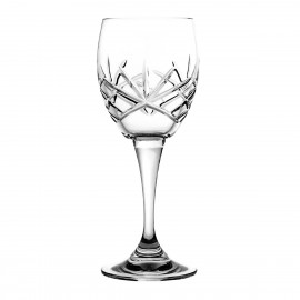 Crystal Red Wine and Water Glasses, Set of 6 4166