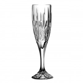 Crystal Champagne Glasses, Set of 6 4226