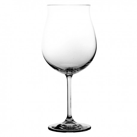 Set of large crystal wine glasses, 6 pcs- 4284