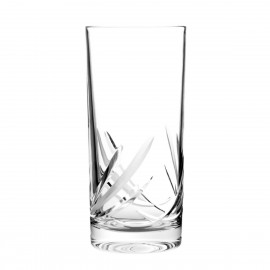 Set of crystal long drink glasses 6 pcs - 4306